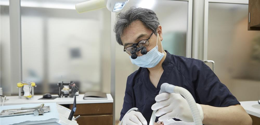 削らない虫歯治療